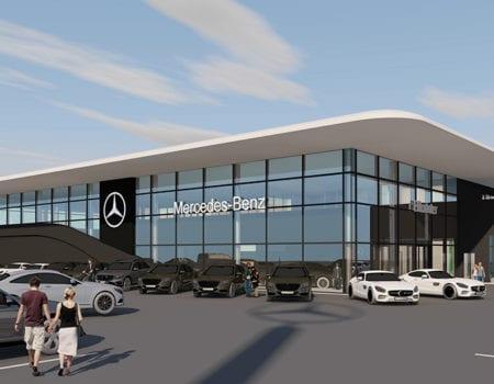 Nyköping först ut i Skandinavien med Mercedes-Benz nya världskoncept
