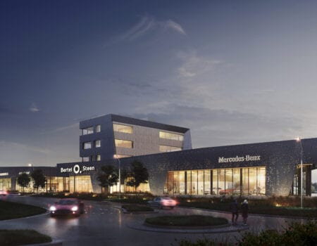 Norges största bilhall invigd